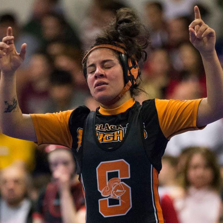 Ana Lima Myelin6 2020 state wrestling champ